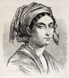 Giuseppina Bolognari femme sicilienne — Image #13295413