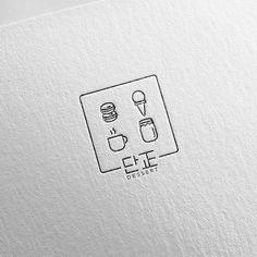 Baking Logo Design, Cake Logo Design, Food Logo Design, Logo Food, Branding Design, Brand Identity Design, Corporate Branding, Resturant Logo, Restaurant Logo Design