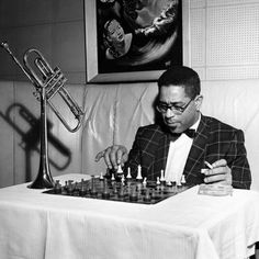Dizzy Gillespie - 1955 Photographic Print by G. Marshall Wilson at Art.com
