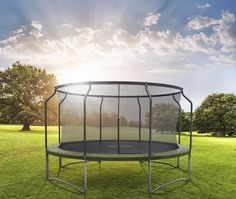 Trampoline with NO WEIGHT LIMIT.