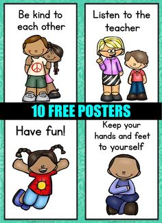 Free Classroom Rules Posters Free Classroom Rules Posters Free Classroom Rules Posters The post Free Classroom Rules Posters appeared first on Dress Models. Preschool Classroom Rules, Classroom Rules Poster, Classroom Signs, Toddler Classroom, Classroom Behavior, Free Preschool, Preschool Printables, Classroom Themes, Classroom Management