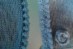 remate para prendas de bebé gorritos Bind Off Knitting, Knitting For Kids, Knitting Stitches, Knitting Patterns Free, Baby Knitting, Diy Crafts New, Diy Crafts Knitting, Diy Crafts Crochet, Chunky Crochet