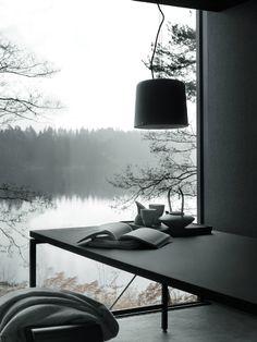 LEUCHTEND GRAU Interior-Design-Blog celebrating soft Minimalism: Wochenendhaus aus Stahl und Glas