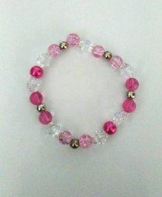 Hey, I found this really awesome Etsy listing at https://www.etsy.com/uk/listing/255031068/pretty-pink-bracelet