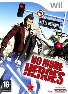 No More Heroes sur Wii Wii U, Nintendo Wii, Assassin, Playstation, Otaku, Wii Games, Gamers, Single Player, I Am Game