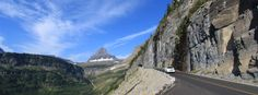 Going-to-the-Sun Road in Glacier National Park Banner