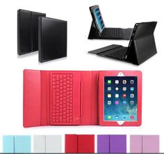 iPad 2 3 4 iPad air 2 iPad air Bluetooth Silicone Keyboard Stand Leather Case Cover Free Shipping