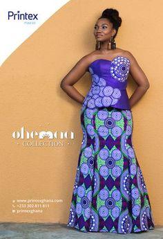 Ghana: Printex releases new african fashion collection 'Ohemaa' African Fashion Designers, African Inspired Fashion, African Print Fashion, Africa Fashion, African Print Dresses, African Fashion Dresses, African Dress, Fashion Outfits, Fashion Ideas