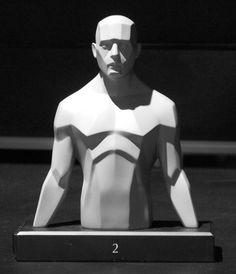 Torso Anterior Head Face Skull Front Forms Lighting  http://www.thegnomonworkshop.com/store/product/463/Flesh-Torso-Set