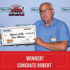 As of August 3rd, 2021, Massachusetts State lottery winner, Robert Libby, claimed his $4 million dollar prize playing the Mega Millions. Although he claimed his prize on August 3rd, his winning numbers were drawn on June 25th, 2021. Believe it or not, prizes are claimed at a later date more frequently than you think! Congratulations Robert! bit.ly/2XypAn9 . . . #casino #gambling #poker #bettingexpert #onlinecasino #casinoguide #travelwithACGB #americancasinoguidebook