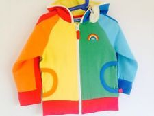 BNWT Little Bird by Jools Oliver Rainbow Hoodie age 2 3 years NEW Mothercare