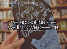 Because of Reading #ThePerksOfBeingAWallflower