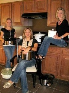 """Crock Pot Girls- all of their recipes are on here"""