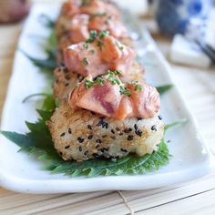 FOODjimoto: Spicy Tuna with Crispy Rice