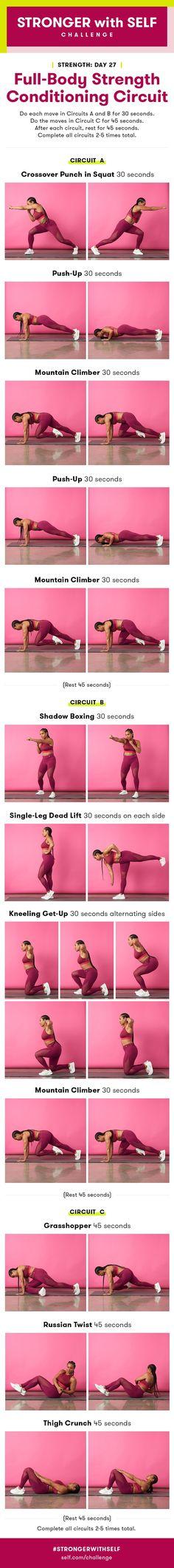 Full-Body Strength Conditioning Circuit