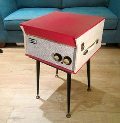 eBay watch: Refurbished vintage Dansette Tempo record player