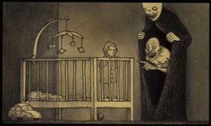 Artist Don Kenn opens a window to a different world when he draws monsters on post-it notes.