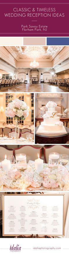 Park Savoy Estate Wedding Reception Decor | Photo by Idalia Photography