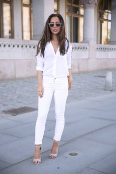 Denim And Supply White Button Up...