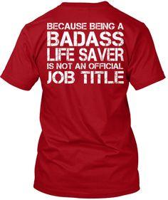 ER Nurse Limited Edition T-Shirt!   Teespring