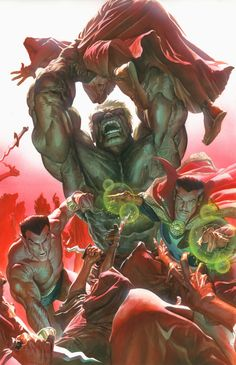 "houseofcomics1: ""Defenders by Alex Ross """