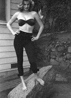 Anita Ekberg. Photo by Milton Greene, 1954.