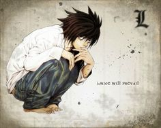 Death Note L Wallpaper High Quality Resolution - Sotoak L Wallpaper, 1920x1200 Wallpaper, Wallpaper Pictures, Wallpaper Backgrounds, Trendy Wallpaper, Mobile Wallpaper, Death Note L, Forrest Gump, Detective
