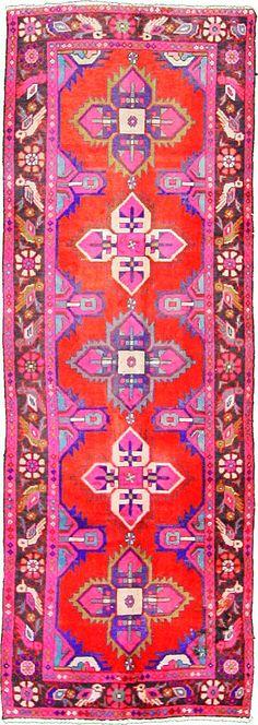 Red 3' 3 x 9' 3 Hamedan Rug | Persian Rugs | eSaleRugs  Stunning!