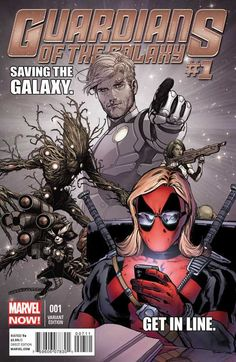 Guardians of the Galaxy #1 Deadpool Variant