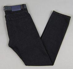 "ETUDES: ""Locomotion"" Jeans, Black Selvedge Denim"