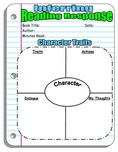 Reading Response Forms and Graphic Organizers | Scholastic.com