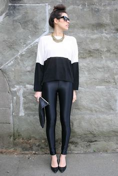 Melissa featured the Black Disco Pant by #AmericanApparel on her blog.