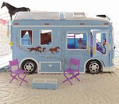 Doll Breyer Horse Trailer | Pottery Barn Kids