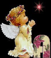 Alfabeto angelito rezando