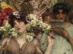 Muddy Colors: Spring - Lawrence Alma-Tadema