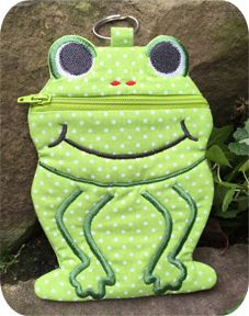 Frog Zipper Case
