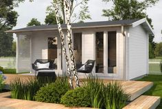 Hytte Anna   Hytte og bolig Modern Floor Plans, She Sheds, Tiny House Living, Villa, Tiny House Design, Brighton, Patio, Flooring, Outdoor Decor