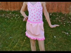 How To Sew A Swim Skirt