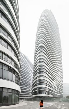Wangjing Soho - architektur bild bureau - Inspiration for residential tower by SI architects