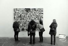 """Art Academy Duesseldorf,""""Pilgrimage to art"""" - Last day of the traditional exhibition """"Rundgang"""" in the Dusseldorf Art Academy. Germany 2016. http://j.mp/artpilgrims"""