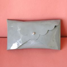 No Sew Clutch - Would be really cute with Leather
