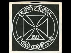 IRON CROSS - Hated and Proud EP (1983)