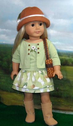 American Girl doll clothes- outfit by SugarloafDollClothes