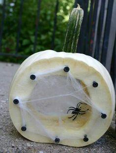 Spider nest pumpkin