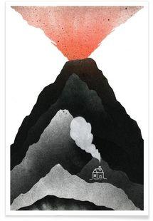 Man & Nature: Vulcano - David Penela - Affiche premium