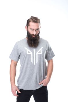 GLEIPNIR WAS TIED AROUND FENRIS, AND THE CONTEST BEGAN. FENRIS STRUGGLED WITH ALL HIS MIGHT. BUT THE MORE HE STRUGGLED, THE TIGHTER THE FETTER WOUND ITSELF AROUND HIM.  • 100% ringspun cotton • Pre-washed • Double-stitched neckline • Crew neck Old Norse, Mother And Father, Two By Two, Crew Neck, Neckline, T Shirts For Women, Cotton, Tops, Fashion