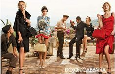 Bianca Balti Catherine Mcneil Eva Herzigova for Dolce Gabbana 2014 Dolce & Gabbana S/S 2014 | Eva Herzigova, Catherine McNeill, Tony Ward+ M...