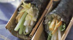 Gemüse-Sushiröllchen
