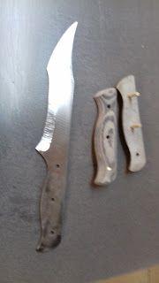 Fabrication d'un couteau
