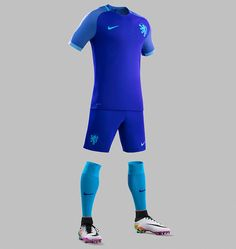 a6b232c5cf9 The new Nike Netherlands 2016 away kit boasts an incredible design in  purple and turquoise